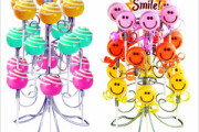 display lollipops in a stand