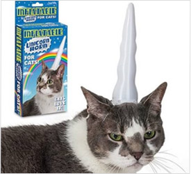 unicorn horn for pet cat