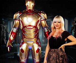 Iron Man Life Size