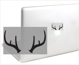 Antlers horn decal for macbook