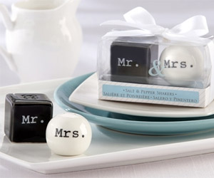 mr mrs shaker for table