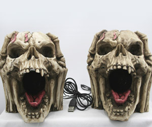 Skeleton Head Speakers