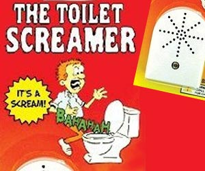 bathroom prank toilet screamer gag