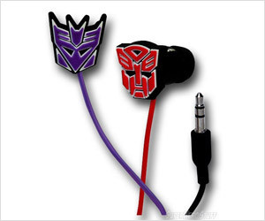Transformers Rubber Earphones