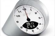 original Porsche designed alarm table clock
