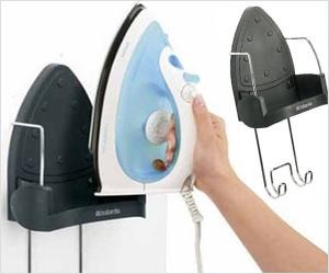 wall mount iron holder