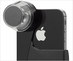 shoot 360 degree videos with special iphone lens