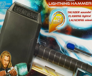 electronic thor lightening hammer