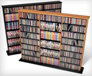 large storage cabinet for CDs and DVDs disc