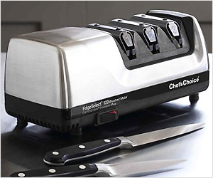 sharpen knives at home with electric knife sharpner