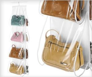 Genial Stroage Organizer For Handbag And Purse Keeping