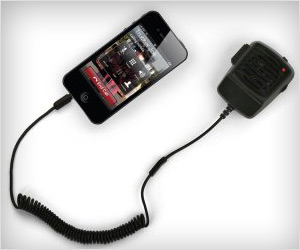 walkie talkie style handset for iphone
