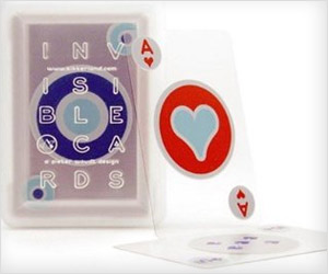 waterproof transparent playing cards made of plastic