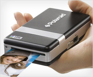 portable hand printer for instant prints of mobile phone photos