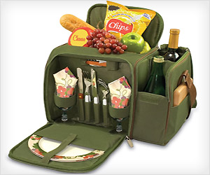 spacious picnic bag for men and women