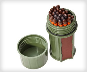 economical cheap waterproof match stick case