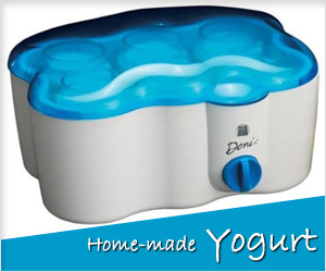make yogurt at home with electric yogurt maker device