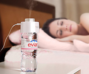 Portable USB Humidifier can be used on any water bottle
