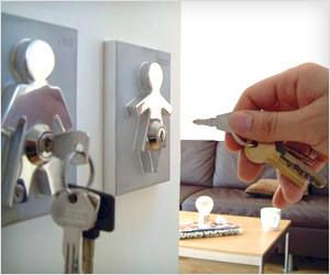 Couple Keys Holder