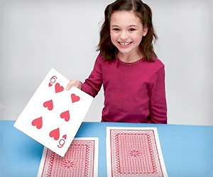 big sized jumbo poker playing cards for kids and adults