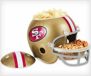 nfl snack tray bowl helmet