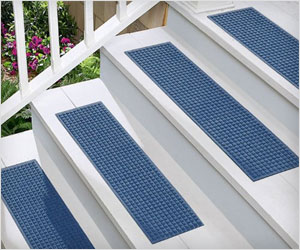 make stairs less slippery wet dirty with tread mats