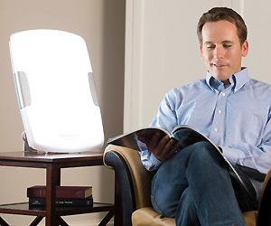 sunshine simulator for glare free light to energize, less depression and moody