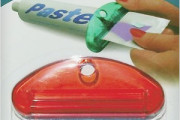 squeezer to push out contents of toothpaste tube