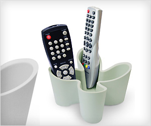 tv remotes holder with stylish curve design