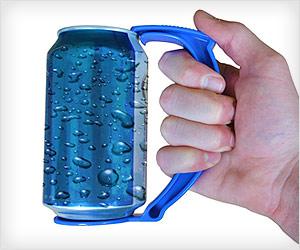 grip holder for beverage can