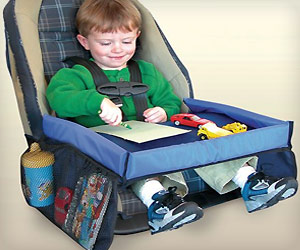 flat snack play tray for kids in car