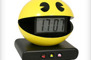 Pac Man digital alarm clock