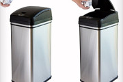 touchless trash can lid open automatically with sensor movement