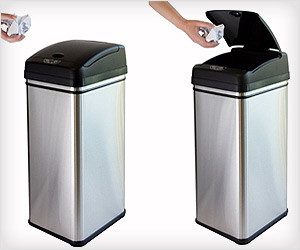Touch free Trash Can