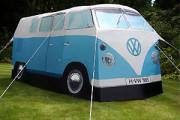 vw camper van shape replica camping tent