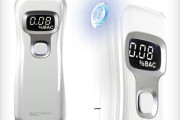 Portable Breathalyzer to test BAC blood alcohol content