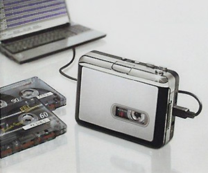 USB Portable Cassette to MP3 Converter