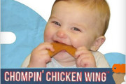 chicken wing shape teething toy