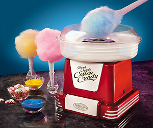 Cotton Candy spin maker at home kitchen