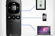 Bluetooth remote for controlling ipad, iphone, mac