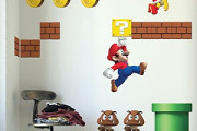 mario game wall sticker decal