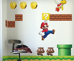 Mario Wall Sticker