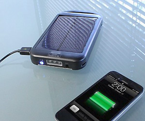Solar Power Bank for mobile charging anywhere