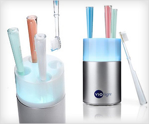 kill toothbrush germs with sanitizer