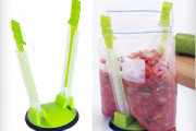 Plastic Bag Holder Rack Clips