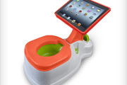 Potty Seat with iPad tablet holder