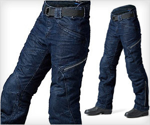 Motorcycle Denim Pants