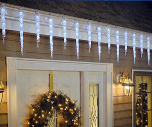 Crystal Icicle Lights