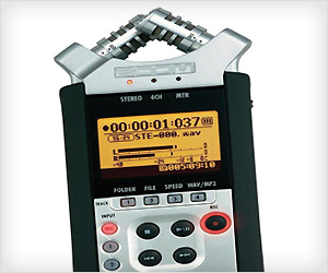 Zoom H4N Handy Portable Digital Audio Recorder