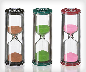 Sand Timers to measure time